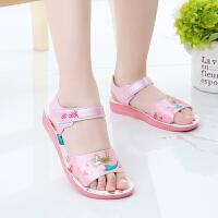 女童凉鞋夏季新款小中童女孩公主运动沙滩鞋儿童鞋子