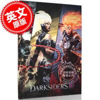 现货 黑暗血统3:官方游戏指南典藏版 英文原版 Darksiders III: Official Collector'