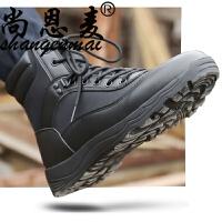 行者男特种兵 舒适耐磨作战靴 户外秋季战术靴陆战靴