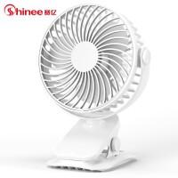 赛亿(Shinee)电风扇 小风扇 台式落地夹扇 壁扇 迷你车载换气电风扇 学生宿舍床头扇 FTB6-01