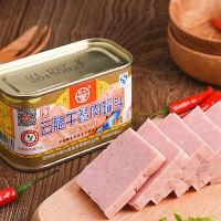 【�M300�p210】云腿午餐肉罐�^198g 百年老字�精�x�C肉火腿