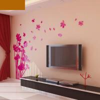 亚克力3d立体墙贴家装饰品客厅卧室电视背景墙壁纸