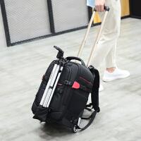 拉杆摄影包双肩多功能大容量相机包拉杆箱拉杆式登机箱摄像机 2018双肩拉杆相机包(现货)