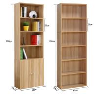 包邮宽60cm单柜子储物柜卧室家用落地多功能收纳木质简易书柜书架