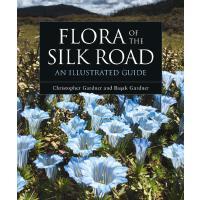 英文原版 丝绸之路的植物图说 超五百种花与风景摄影画册 精装 Flora of the Silk Road: An Il