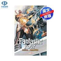 英文原版 Fantastic Four: Behold Galactus! 漫威 复仇者联盟 Stan Lee 斯坦李
