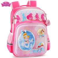 小学生书包1-3-4年级女童迪士尼公主6-10岁韩版减负儿童双肩背包