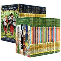 正版 英文原版 Magic Tree House 1-53 新版神奇树屋全册套装1-28 梅林的任务1-25 儿童英语桥梁章节趣味故事书 科普探险小说