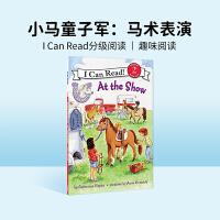 #进口原版 Pony Scouts: At the Show 小小童子军:马术表演