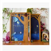 许愿树 木盒装同学录 创意毕业纪念册 单本价格 图案随机