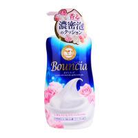 日本大赏cow牛乳石碱玫瑰浓密泡沫沐浴露500ml 玫瑰