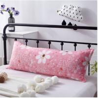 加厚法莱绒双人长枕套 枕头套1.2/1.5/1.8m米床上用品加长枕芯套