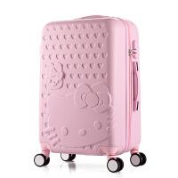 卡通kitty猫子母箱女学生拉杆箱万向轮可爱旅行箱行李箱24寸26韩SN6956