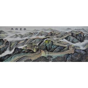 当代实力派画家  肖建  华夏雄风   /43