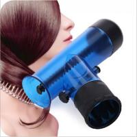 韩式龙卷风卷发筒/波浪形吹风筒风罩卷发器(混色)带棒 蓝色
