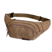 户外旅游手机包帆布男包斜挎小包腰包运动胸包休闲小腰包