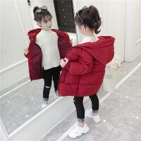 女童棉衣2018新款女宝宝休闲洋气加厚棉袄儿童小女孩冬装外套