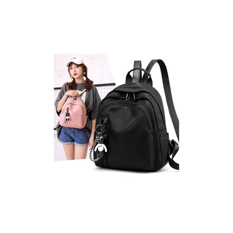 时尚女包休闲百搭牛津布学生书包双肩包韩版旅行小背包潮流尼龙包 经典小背包 出行小包