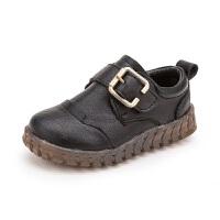 2018春季儿童新款小皮鞋1-3岁宝宝鞋男童婴幼儿软底防滑休闲单鞋