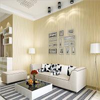 月光森林素条纹满铺壁纸书房客厅卧室背景大面积墙纸