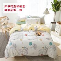 LANSIU/蓝丝羽全棉印花 四件套 多款花型可选