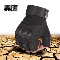 男士式半指手套骑车防晒露指特种兵专用作训手套霹雳手套 握力器