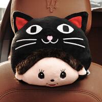 汽车头枕护颈枕可爱车用座椅靠枕枕头车枕车内用品创意