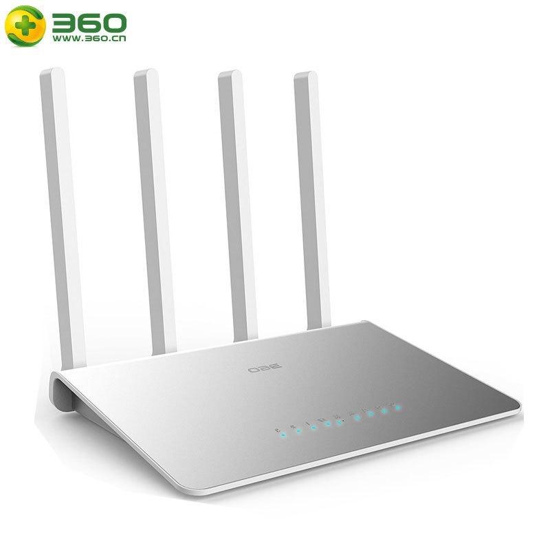 360无线路由器P4C 全千兆双频安全路由器wifi家用信号放大光纤宽带高速5G智能游戏加速四天线大户型穿墙王1200M 内置吃鸡加速、极光加速、QOS畅玩游戏不卡
