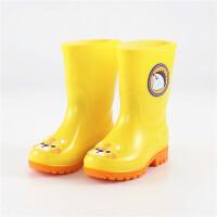 宝宝儿童雨鞋男童女童幼儿园小学生防滑耐磨中筒水鞋雨靴