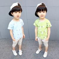 男童夏装新款套装夏季童装小童洋气宝宝儿男孩衣服潮