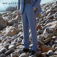 【1件3折价:71.7】MECITY男装夏季新款时尚商务西裤男士休闲西服裤男