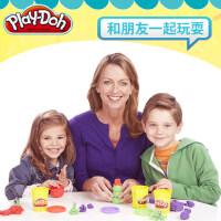 培乐多儿童女孩男孩手工玩具无毒模具工具彩泥橡皮泥8色套装粘土