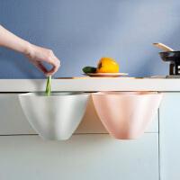 厨房收纳盒 厨房橱柜式挂式垃圾桶家用大号无盖塑料收纳盒垃圾杂物篓