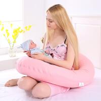 抱枕护腰枕 学坐哺乳枕靠枕 大C型孕妇枕头 侧卧侧睡枕托腹