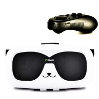 儿童VR眼镜虚拟现实 我的世界游戏机手机3D电影周边积木正版玩具