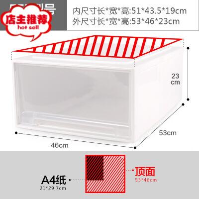 抽屉式收纳箱多层透明收纳柜家用被子储物箱塑料整理箱三件套  三件装 一般在付款后3-90天左右发货,具体发货时间请以与客服协商的时间为准