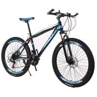 艾仕图 山地自行车 山地车变速自行车26寸24寸减震21速礼品学生单车