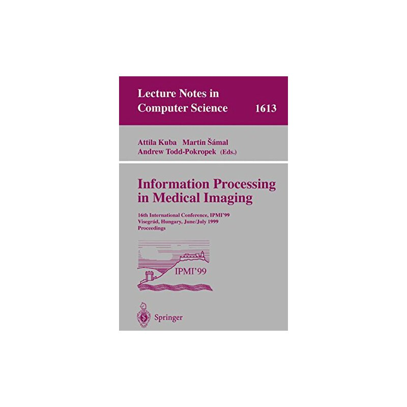 【预订】Information Processing in Medical Imaging: 16th Internation... 9783540661672 美国库房发货,通常付款后3-5周到货!