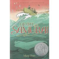 【现货】英文原版 Heart of a Samurai 鲸武士 纽伯瑞获奖作品