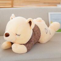 泰迪熊公仔大号抱枕玩偶女孩生日礼物 趴趴熊毛绒玩具熊可爱布娃娃