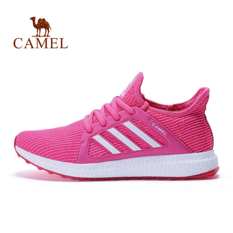 骆驼牌运动 女款跑鞋轻质耐磨减震网里运动鞋跑步鞋城市跑