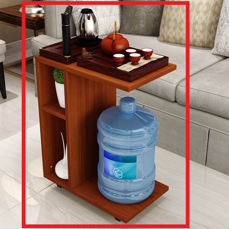 创意简约小户型茶几可移动客厅功夫茶桌卧室边角几笔记本床头桌子o0l 可移动功夫茶桌,非常方便