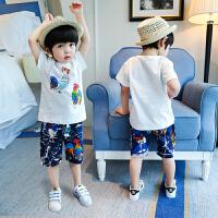 男童夏装新款套装宝宝半袖韩版夏季童装潮衣儿童短袖