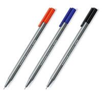 德国 STAEDTLER施德楼334彩色勾线笔 彩色针管笔纤维笔 水笔 30色纤维笔