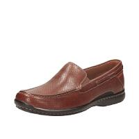 Clarks其乐男鞋透气套脚商务休闲鞋Un Basin专柜正品