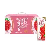 【5月生产】蒙牛真果粒草莓果粒250g*12