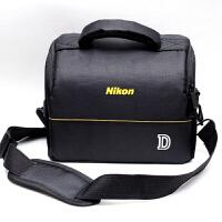 尼康相机包单反包D7000 D3200 D3400 D3400 D7100单肩摄影包防水