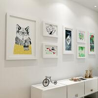 照片墙相框墙客厅现代简约相片墙大相框挂墙创意组合照片墙