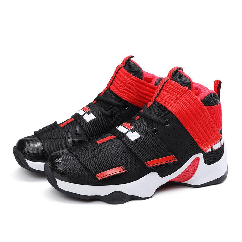 四季篮球鞋男情侣高帮耐磨透气球鞋高帮运动鞋女男鞋