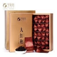 【宁德馆】 梦龙韵乌龙茶大红袍320g 武夷岩茶 新茶茶叶 双条礼盒装40泡